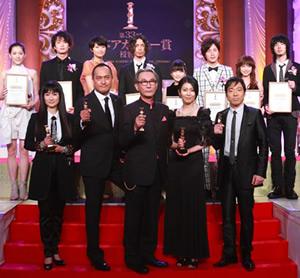 第33回日本アカデミー賞最優秀賞受賞者