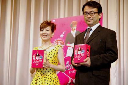 戸田恵子さんと三谷幸喜さん
