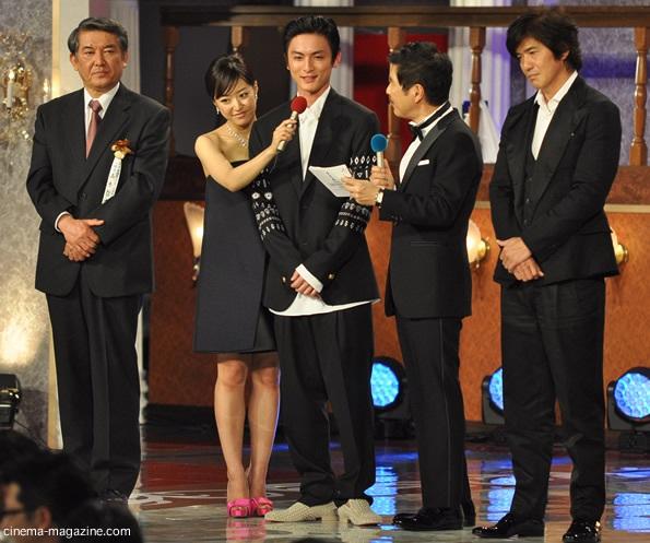 高良健吾ら、助演男優賞受賞者
