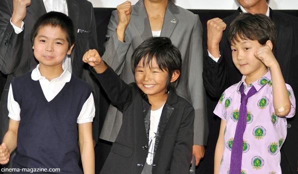 左から、木村風太、加藤清史郎、...