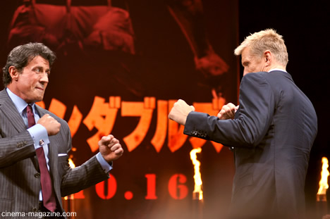 Sly & Dolph au Japon Expendables8